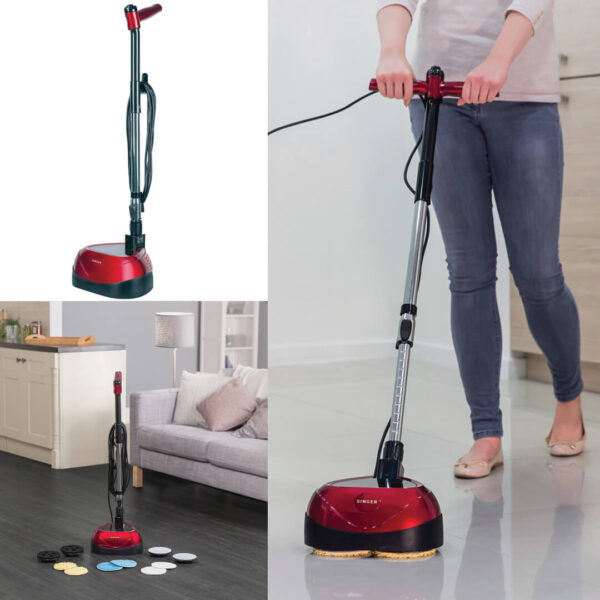 Floor Polisher With Scrubber