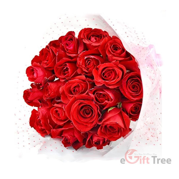 Luxury Red Rose Bouyuet