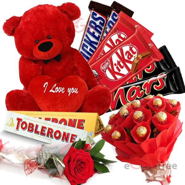 Teddy Bear Pack Chocolates TDCA1