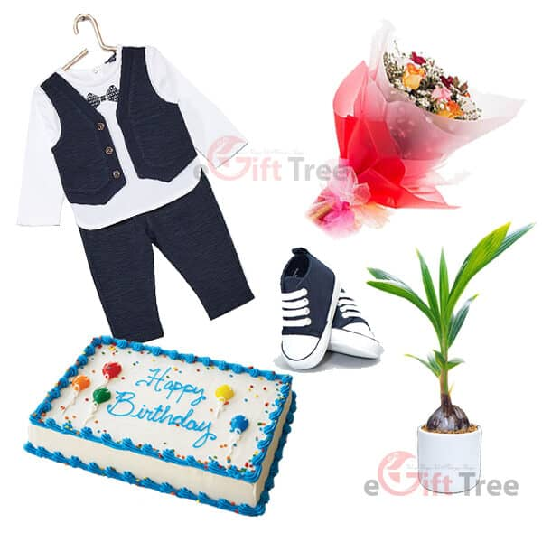 Baby Boy 1st Birthday Gift Pack BBHB1st-2
