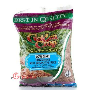 Cic Fragrant Red Rice Low Glycemic Index 48 1kg