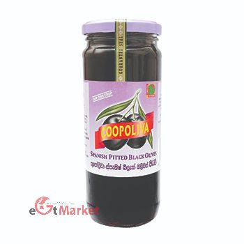 Coopoliva Spanish Pitted Black Olive 450g