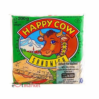 Happy Cow Cheese Slices Sandwich 200g