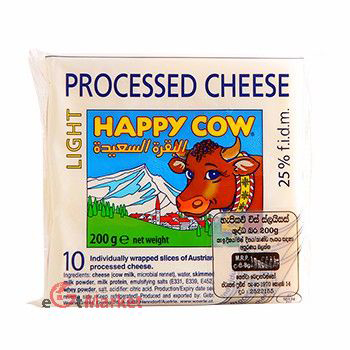 Happy Cow Diet Cheese Slices 200g