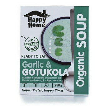 Happy Home Organice Garlic & Gotukola Soup 250g