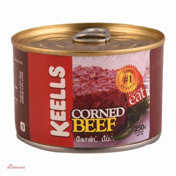 Keells Elephant House Canned Corn Beef 250g