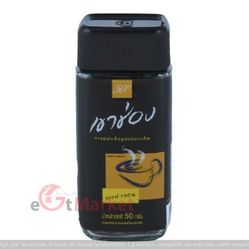 Khao Shong Agglomerated Instant Coffee Bottle 50g