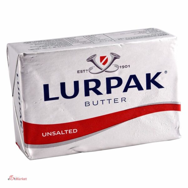 Lurpack Butter Unsalted 200g