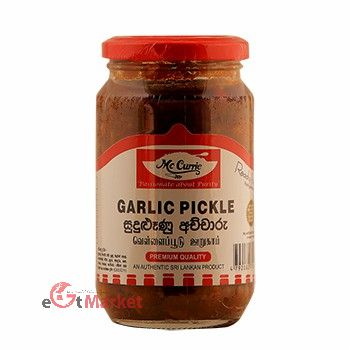 Mccurrie Garlic Pickle 375g