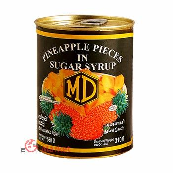 Md Pineapple Pieces 560g