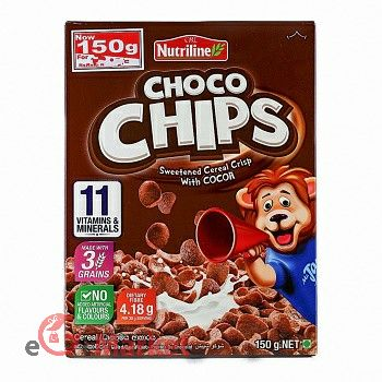 Nutriline Cereal Choco Chips 150g
