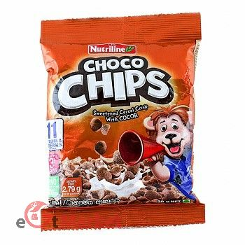 Nutriline Cereal Choco Chips 20g