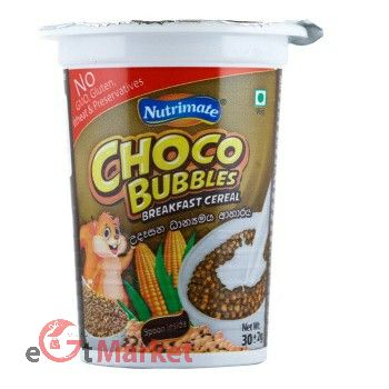 Nutrimate Choco Bubbles Cereal 30g