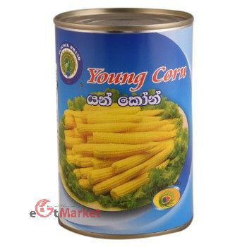 Peacock Young Corn 425g