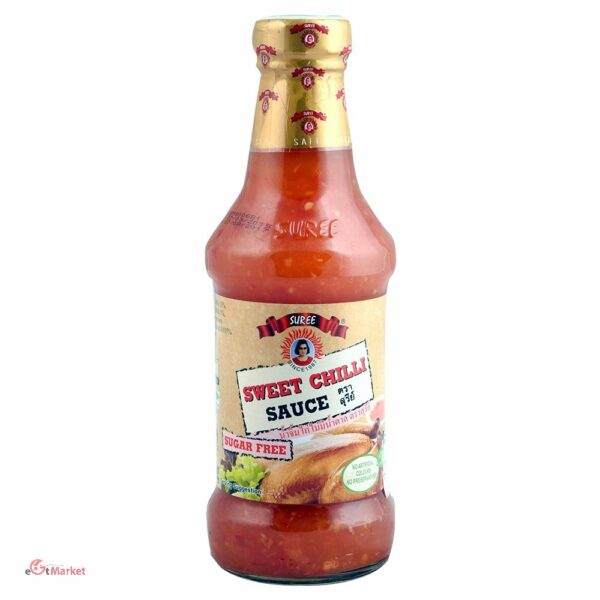 Suree Sweet Chilli Sauce Sugar Free 295ml